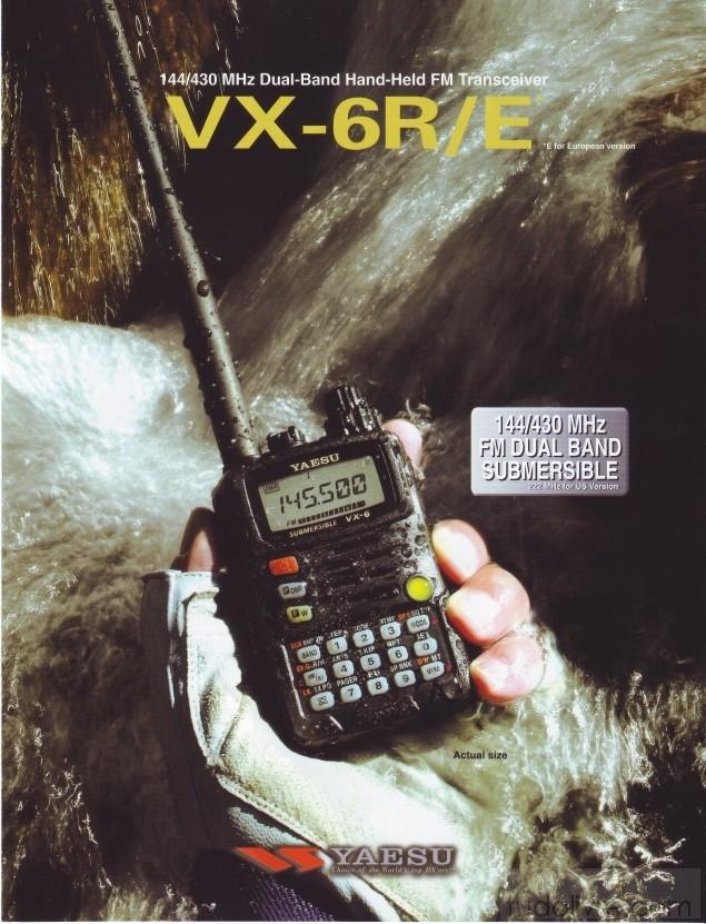 YAESU RADIO V/UHF/50 VX-6R