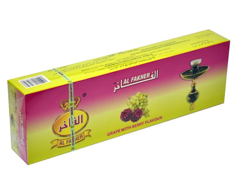 Arguile Tabaco Fakher Uva 50G