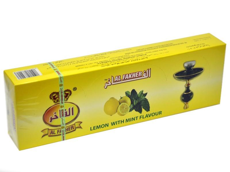 Arguile Tabaco Fakher Limão e Menta 50G