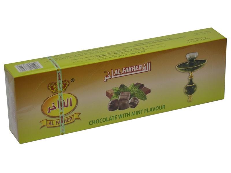 Arguile Tabaco Fakher Chocolate e Menta 50G