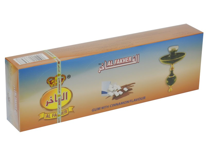 Arguile Tabaco Fakher Chiclete Cinamon 50G
