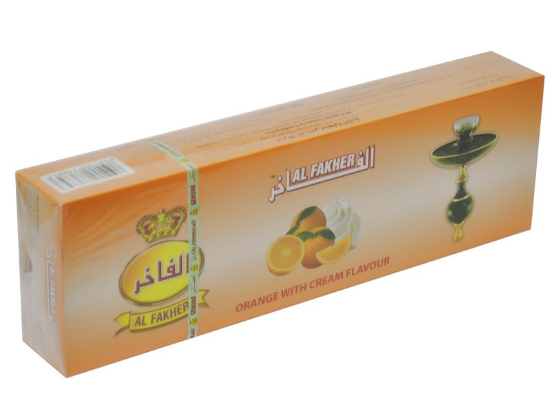 Arguile Tabaco Fakher Laranja e Creme 50G