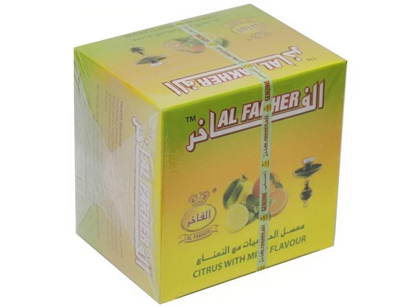 Arguile Tabaco Fakher Citrus e Menta  250G