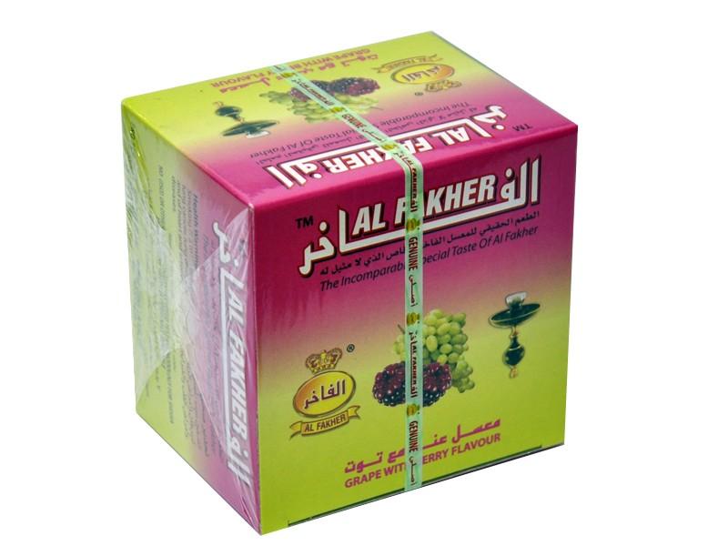 Arguile Tabaco Fakher Uva e Berry 250G