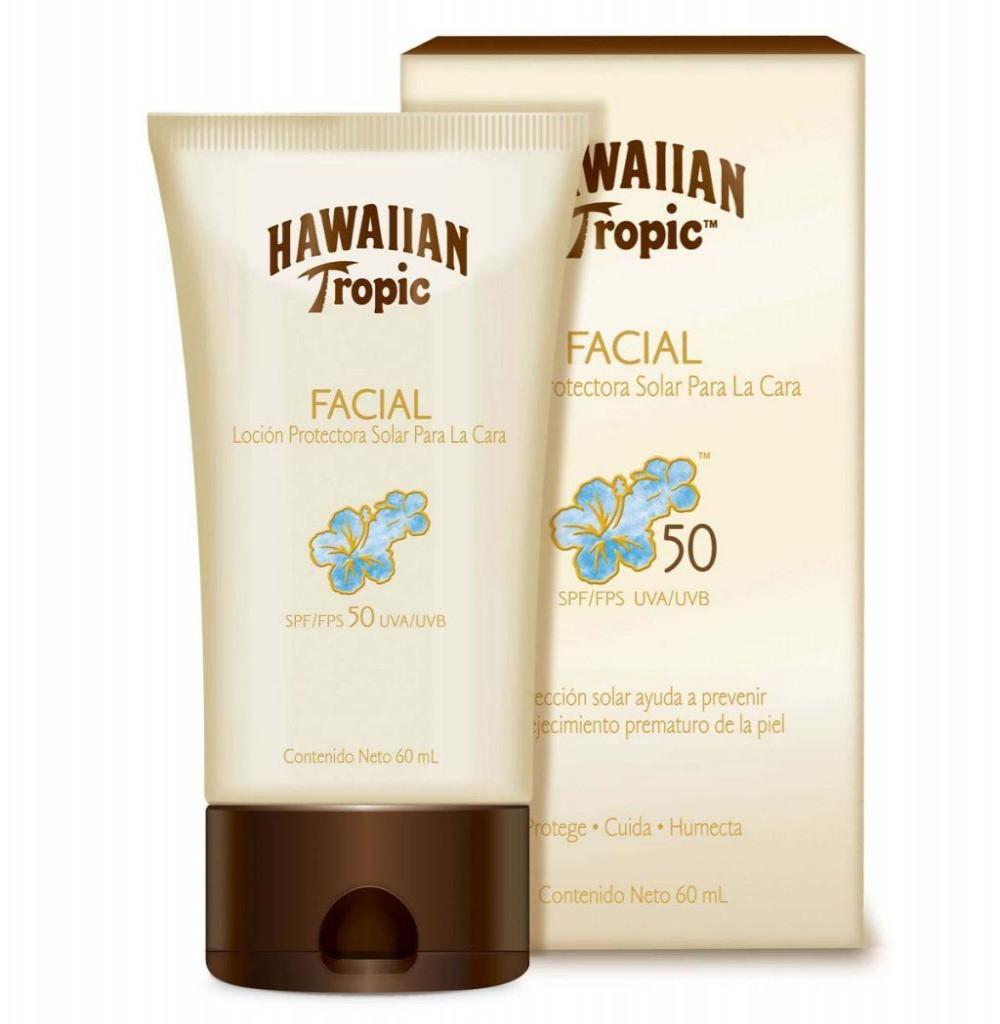 Bloqueador Hawaian Tropic Facial spf50