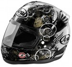 CAPACETE ARAI CORSAIR V FICTION BLACK 2XL 62/63