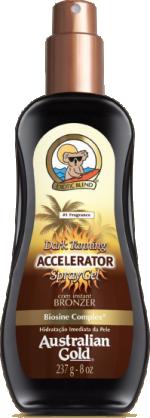 Aceleredor Dark Tanning Accelerator Spray Waterproof 237ML - Australian  Gold