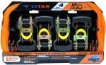 "TITAN CATRACA 04 PEÇAS TC-12201 1-1/16""X12F"