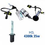 Lampada Xenon HID1 AC Cor 4300K 12volts 35watts