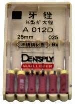 Dent Dentsply Maillefer K 25 25M