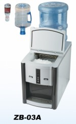 Bebedouros de Galão + Maquina de Gelo Modelo  ZB-03 Mesa