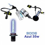 VOYAGER LAMPADA XENON HID9006 AC COR AZUL 12V 35W