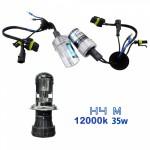 VOYAGER LAMPADA XENON HID4M AC COR 12000k 12V 35W