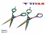 Tesoura Titan Multicolor TT-1038