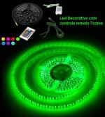 VOYAGER FITA FLEXIVEL COM 300 LEDS COM 7 CORES , ROLO DE 5 METROS