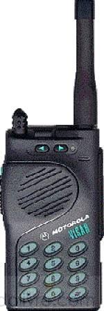 Rádio Motorola  VHF  Visar