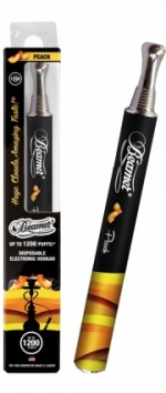 Cigarro Electronico Beamer Hookah 1200 Peach