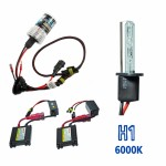 Kit Xenon HID1 DC Cor 6000K 12volts 35watts