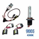 Kit Xenon HID9005 DC Cor 4300K 12v 35watts