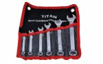 TITAN KIT DE CHAVES COMBINADA 06 PCS MOD. 169606