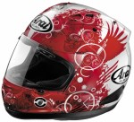 Capacete Arai Corsair V Fiction Red 60/61