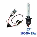 VOYAGER LAMPADA XENON HID27 AC COR 10000K 12V 35W