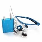 Lupas Cirúrgica Titan 2.5x420mm Head Lamp Led Optical Blue