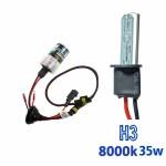 VOYAGER LAMPADA XENON HID3 AC COR 8000K 12V 35W