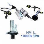 VOYAGER LAMPADA XENON HID4L AC COR 10000K 12V 35W
