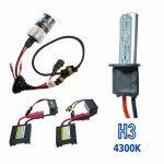 Kit Xenon HID3 DC Cor 4300K 12volts 35watts