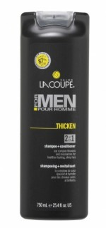 Shampoo LaCoupe for Men Thicken 2+1 Shampoo/Conditioner