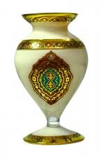 Vaso Tek Art Firuze Marfim
