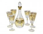 Conjunto Enesco E4 Para Vinho 1 Decanter + 6 Taças