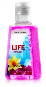 Álcool Gel Life Amour 29ML